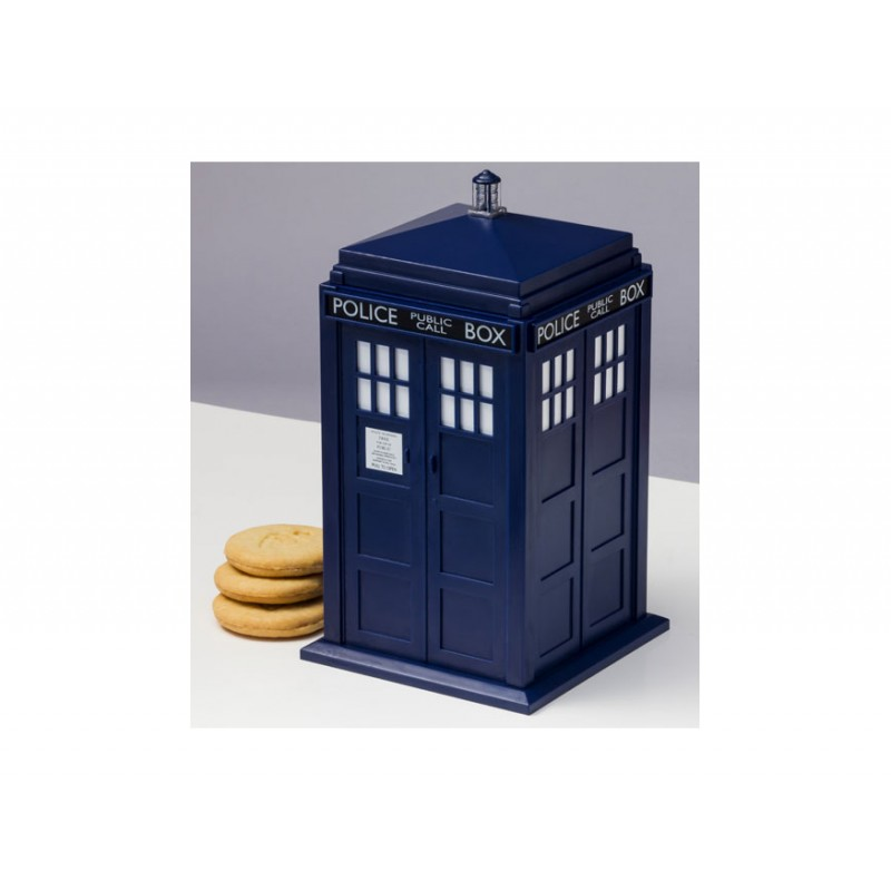 Doctor who tardis talking cookie jar doctor who shop - Tardis cookie jar ...