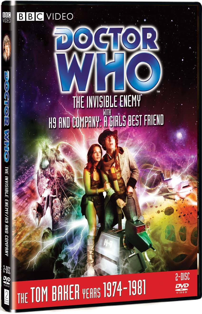 doctor who the invisible enemy with k9 and company a girls best friend