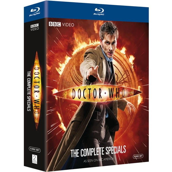 doctor who the complete specials blu-ray