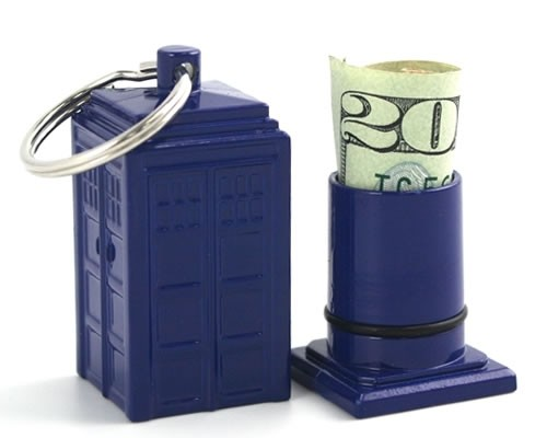 Doctor Who: Tardis Emergency Fund Keychain