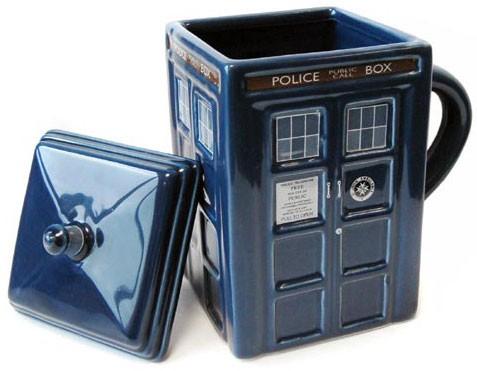 Doctor Who: Lidded TARDIS Mug