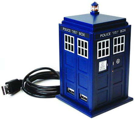 Doctor Who: Eleventh Doctor's TARDIS 4-Port USB Hub