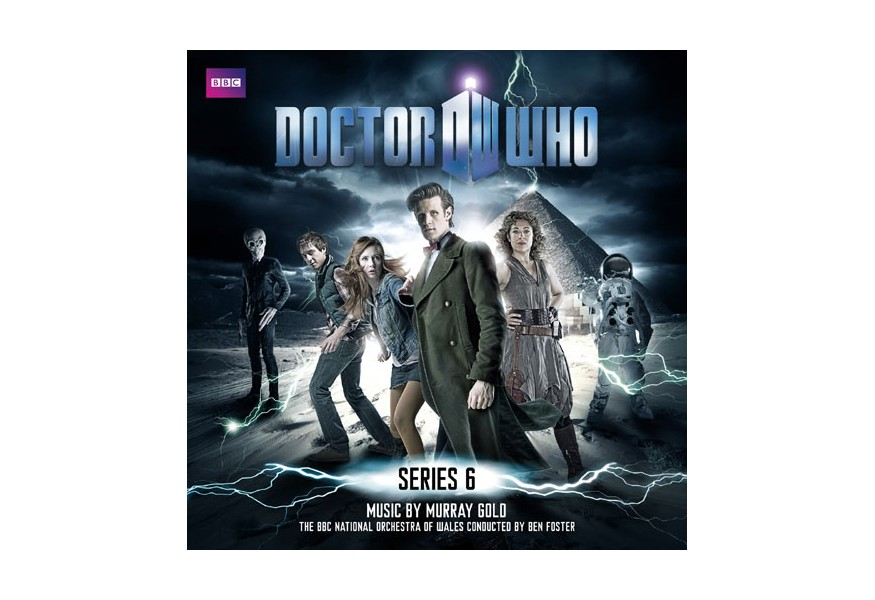 doctor who series 6 music cd set