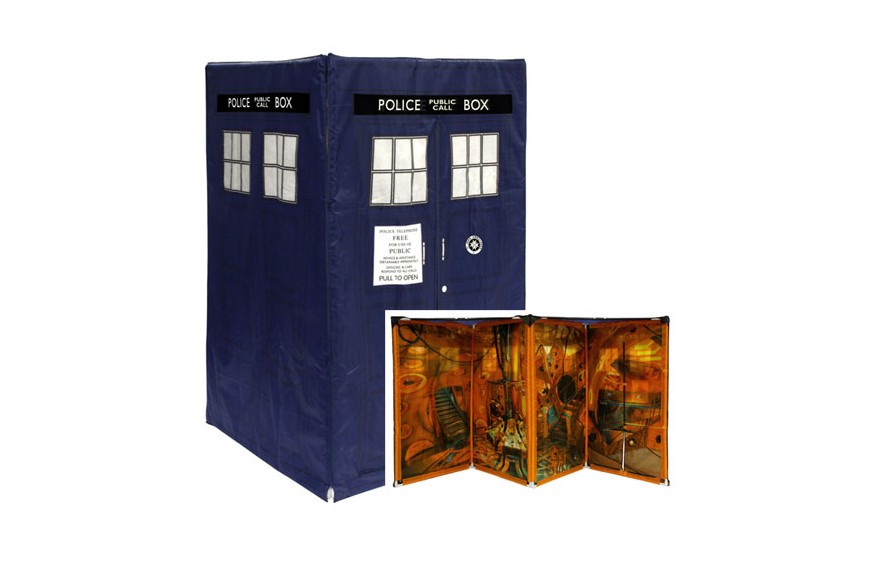 Doctor Who: Expandable TARDIS Tent