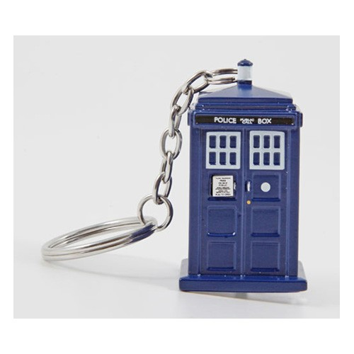 Doctor Who: TARDIS Flashlight Key Chain