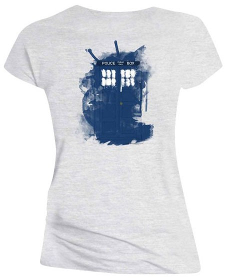 Doctor Who: Modern TARDIS Ladies Tee