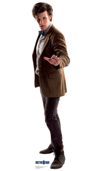Doctor Who: Eleventh Doctor Profile Cardboard Standup