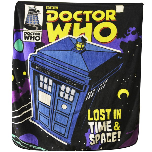 Doctor Who: Comic Cover Throw