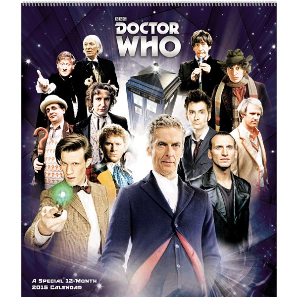 Doctor Who: Special Edition 2015 Wall Calendar
