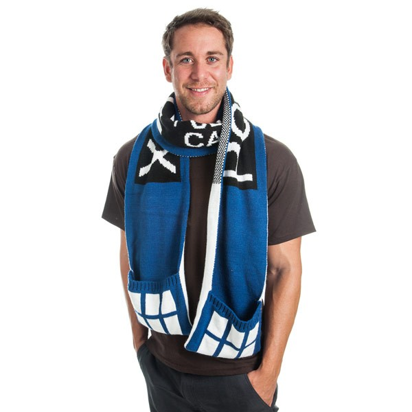 Doctor Who: TARDIS Pocket Scarf