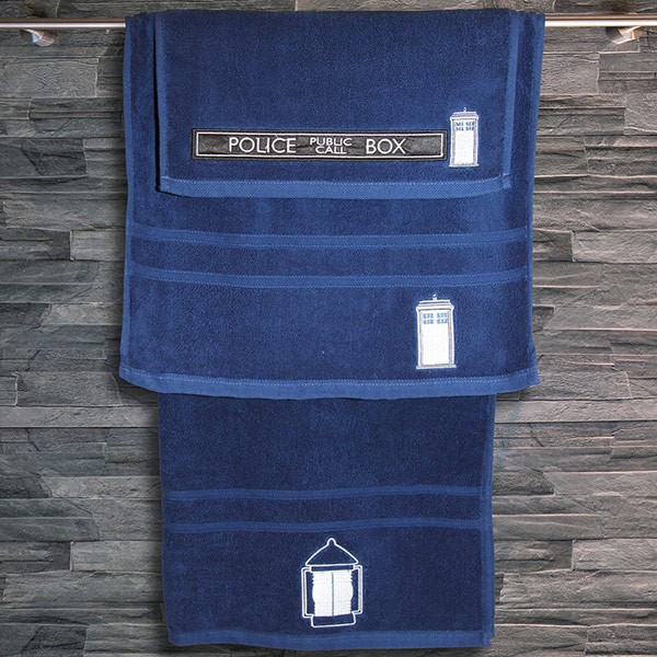 Doctor Who: TARDIS Bath Towel Set