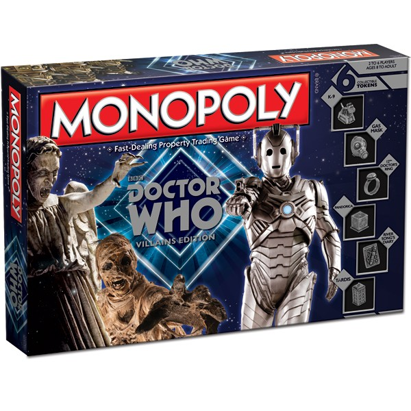Doctor Who: Villains Monopoly