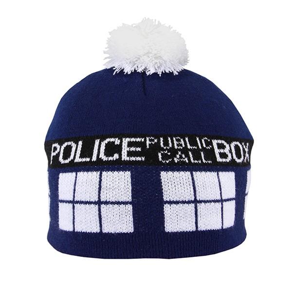 Doctor Who: TARDIS Pom Beanie