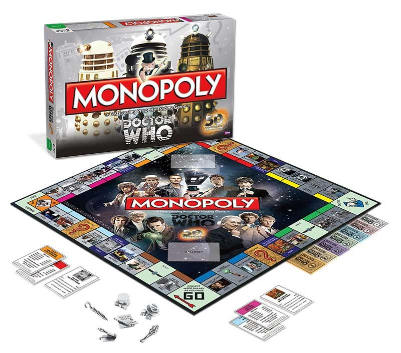 doctor who monopoly game