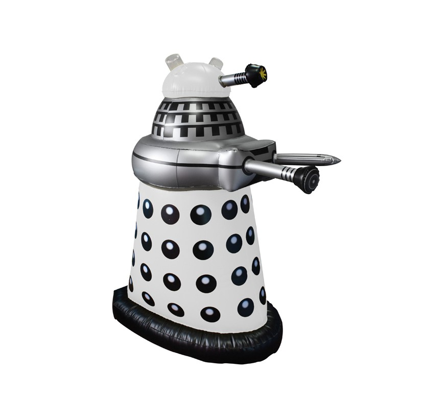 Doctor Who: Inflatable White Dalek