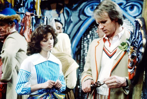 Doctor Who: Snakedance Janet Fielding and Peter Davidson